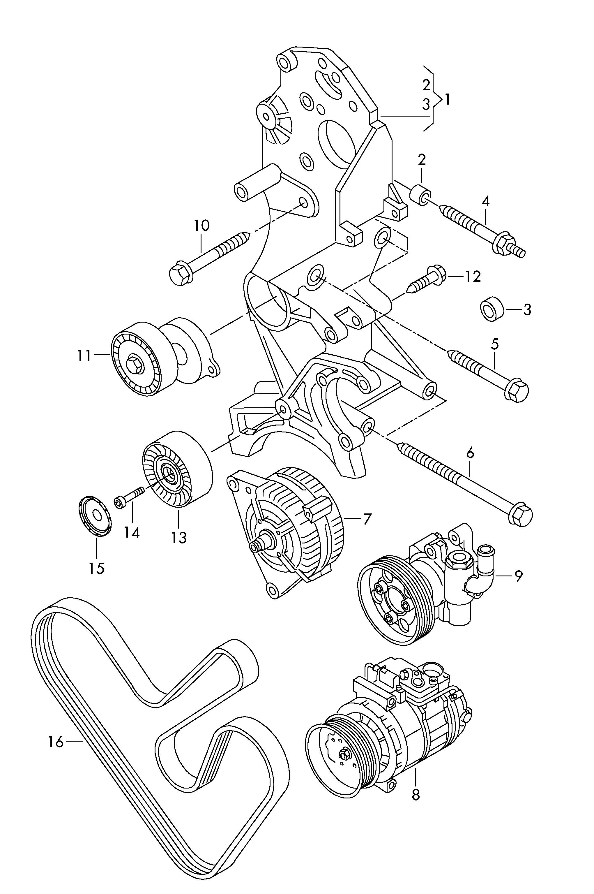 Трансмиссия амарок схема
